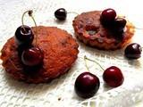 muffin alle ciliegie,mini-cake al cioccolato,cake al cioccolato e ciliegie,come preparare il latticello,latticello