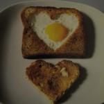 Toast alle uova
