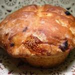 Pane ai fichi con uvetta