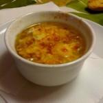Soupe à l'onion, zuppa di cipolle alla francese